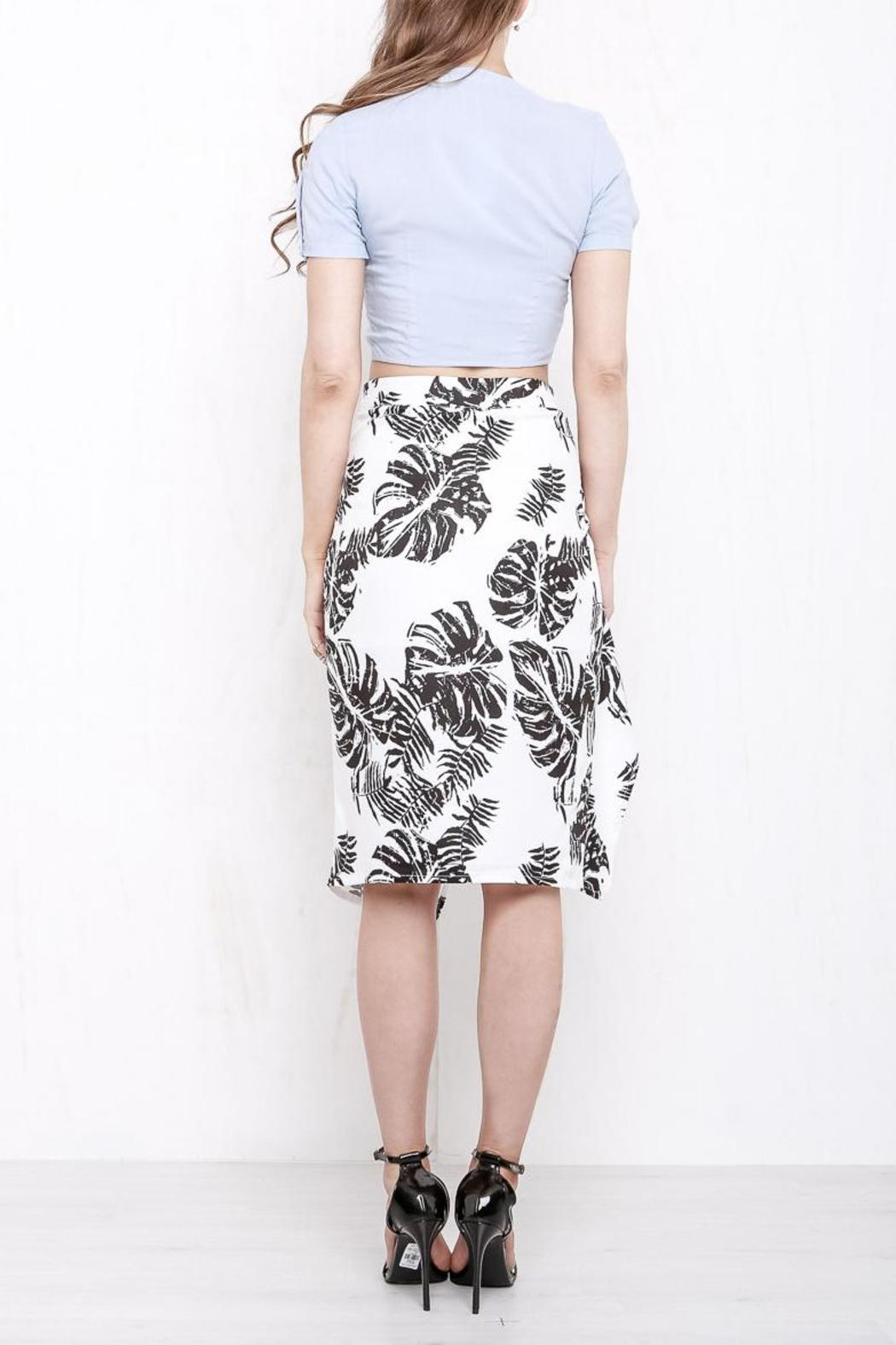 Morrisday The Label Paradise Skirt - Side Cropped Image