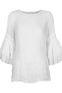 Morrison Linen Dress Top - Product List Image