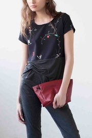 MORS Black Floral Top - Product Mini Image