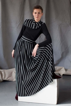 Shoptiques Product: Maxi Striped Skirt