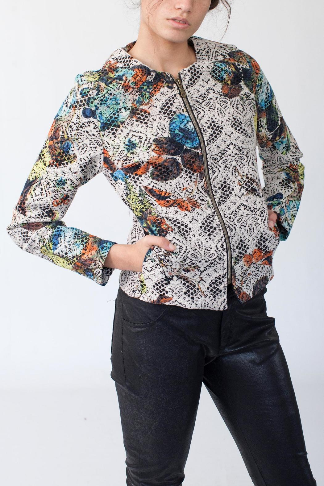 MORS Petite Embroidery Jacket - Front Cropped Image