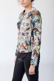MORS Petite Embroidery Jacket - Front full body
