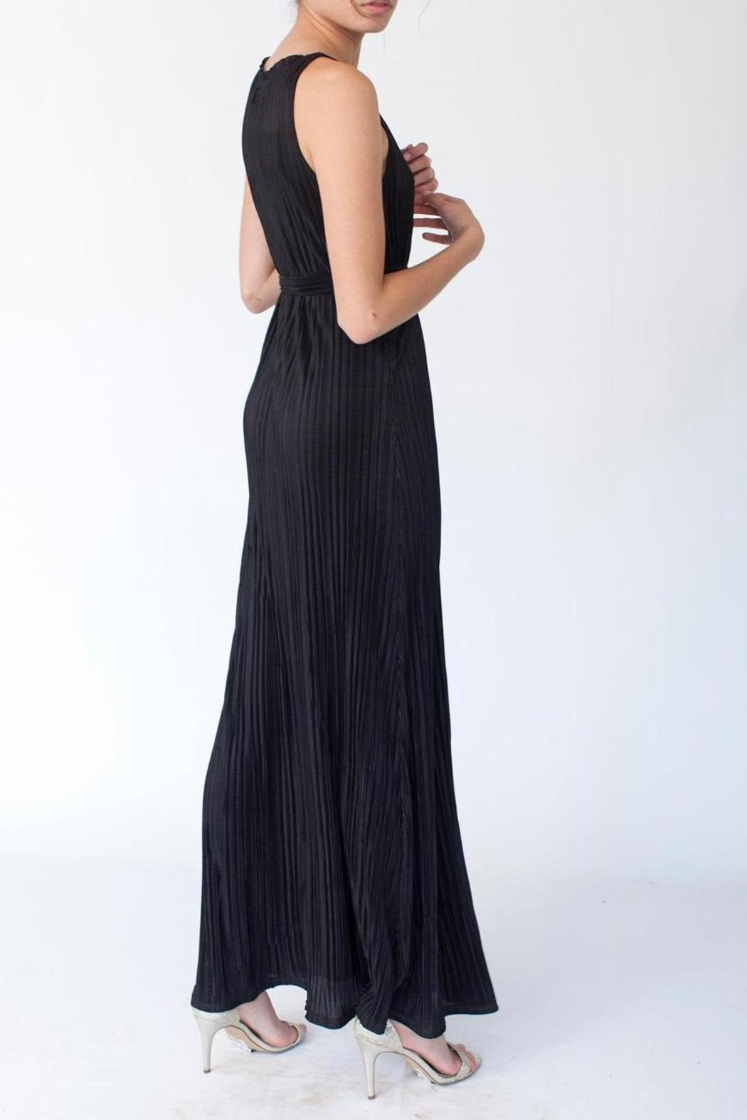MORS Plisse Maxi Dress - Front Full Image