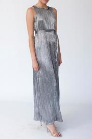 MORS Plisse Maxi Dress - Front cropped