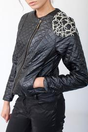 MORS Quilt Ball Jacket - Back cropped