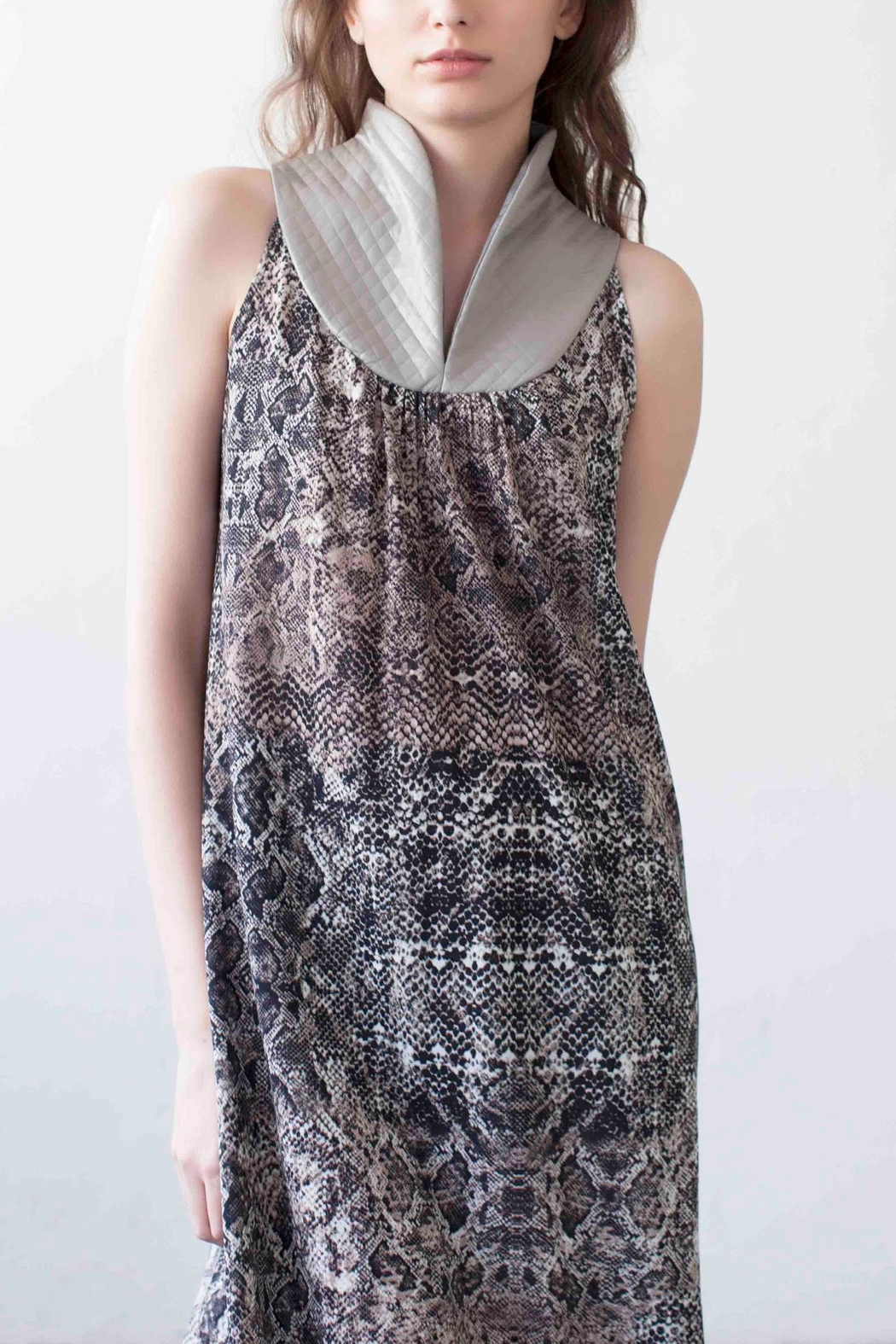 MORS Rotem Printed Dress - Front Cropped Image