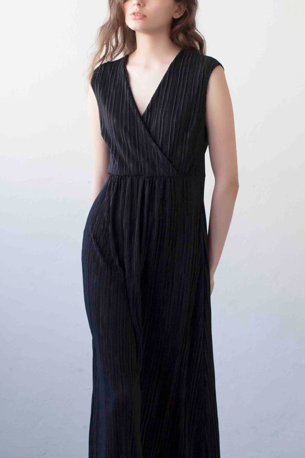 MORS Wrap Maxi Dress - Front Cropped Image