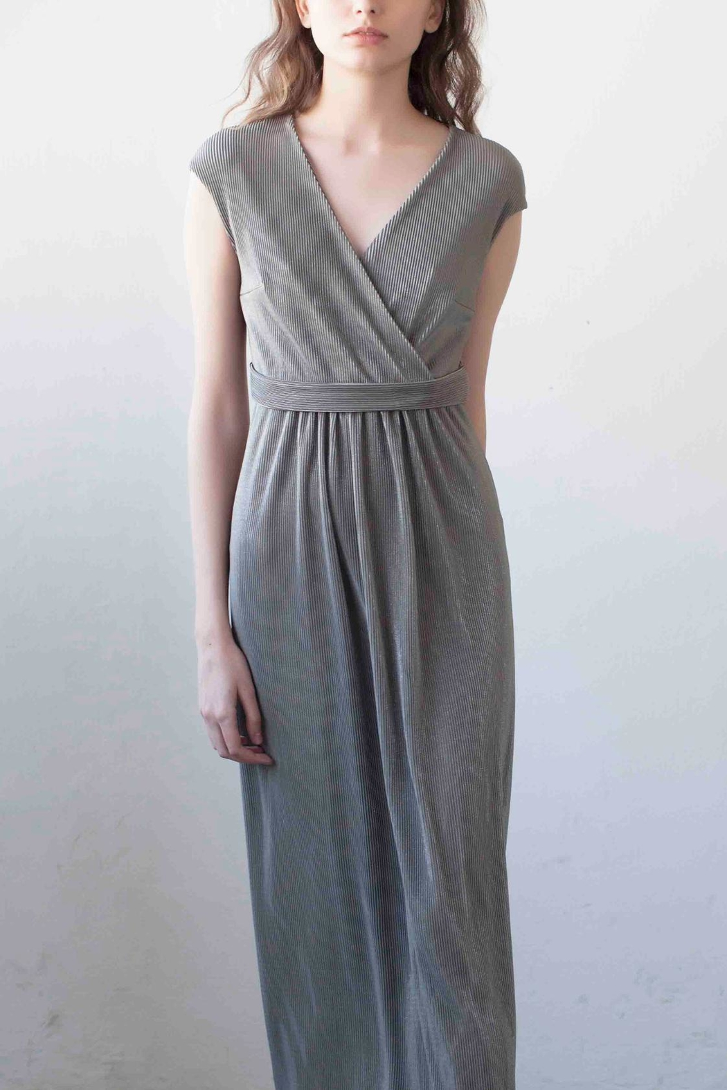 MORS Wrap Maxi Dress - Front Full Image