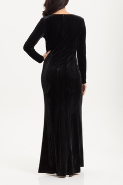 Voodoo Vixen Morticia Velvet Gown - Alternate List Image