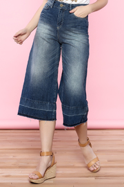Mos Mosh Flare Jeans - Product Mini Image