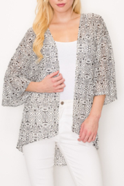 PerSeption Concept Mosaic Print Kimono - Product Mini Image