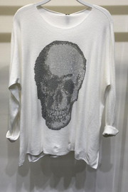 Venti6 Mosaic Skull Top - Product Mini Image