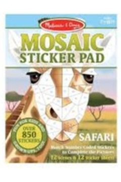 Melissa & Doug Mosaic Sticker Pad - Alternate List Image
