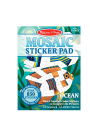 Melissa and Doug Mosaic Sticker Pad - Front cropped