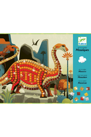 Djeco  Mosaics Art By Numbers: Dinosaurs - Product Mini Image