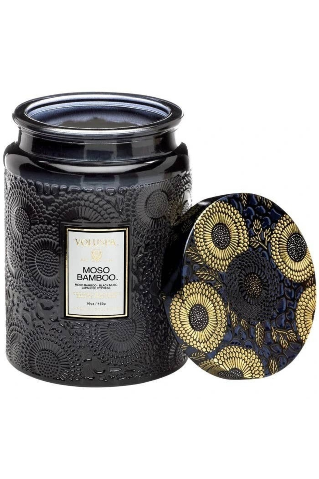 Voluspa Moso Bamboo Large Jar Candle - Main Image