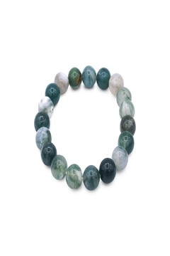Made It! Moss Agate Bracelet - Product List Image