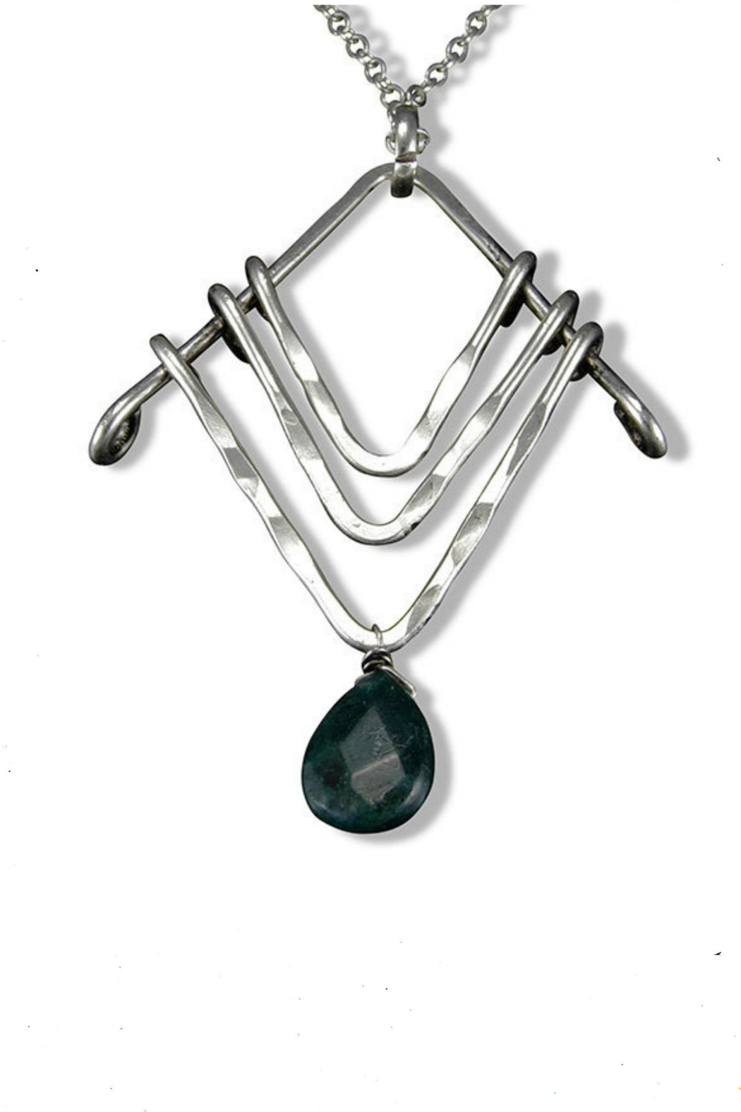 open back product agate oval opnbck moss sterling mossagate silver shoreline nck pendant necklace