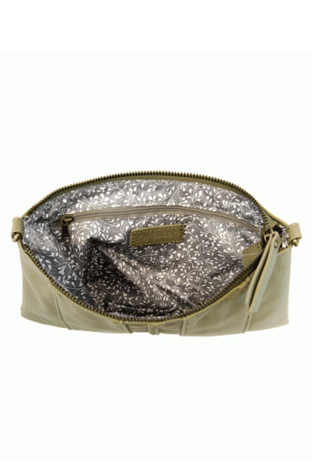 Joy Susan Moss Green Crossbody - Side Cropped Image