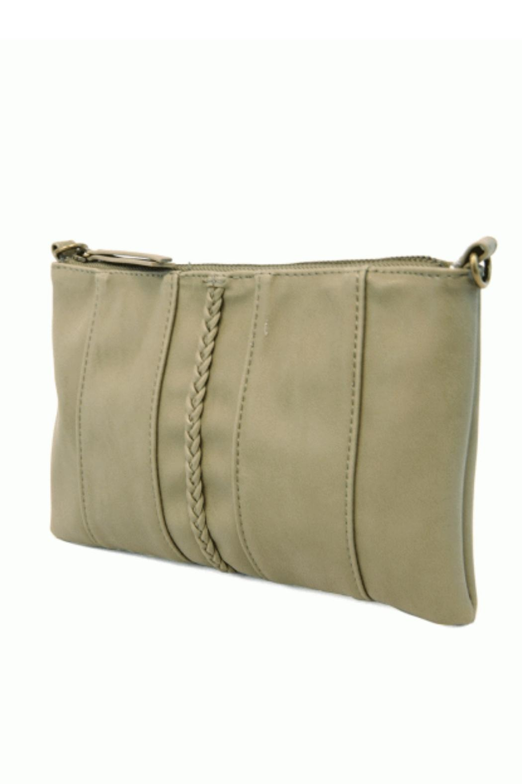 Joy Susan Moss Green Crossbody - Front Full Image