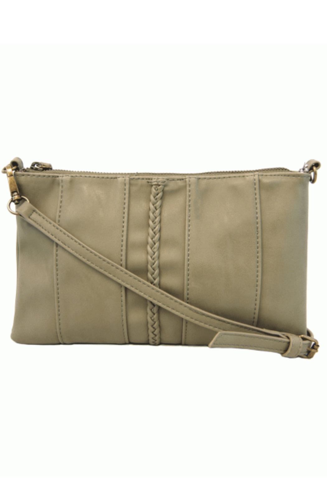 Joy Susan Moss Green Crossbody - Main Image
