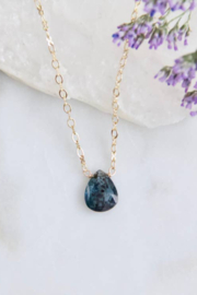 Mesa Blue Moss Kyanite Necklace - Product Mini Image