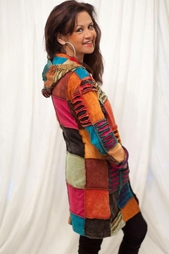 Himalayan Most Wanted! Multi Patchwork Jacket - Product List Image