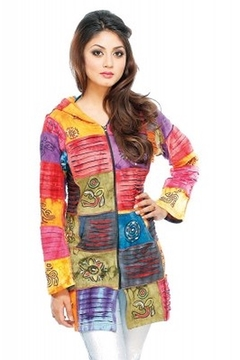 Himalayan Most Wanted! Multi Patchwork Jacket - Alternate List Image