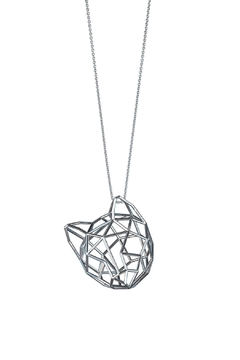 Most Likely Silver Cat Large Necklace - Product List Image