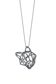 Most Likely Silver Fox Large Necklace - Product Mini Image
