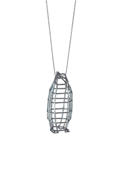 Most Likely Silver Penguin Medium Necklace - Alternate List Image