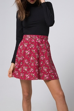 Motel High-Waist Floral Skirt - Product List Image