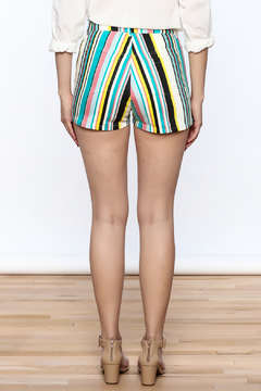 Motel Rocks Candy Stripe Shorts - Alternate List Image