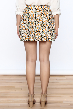 Motel Rocks Daisy Button Front Skirt - Alternate List Image