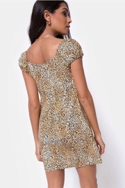 Motel Rocks Gavel Mini Dress - Mini Tiger - Product Mini Image