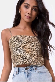 Motel Rocks Mosley Crop Top - Mini Tiger - Product Mini Image