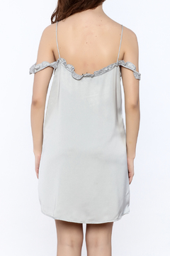 Motel Rocks Silver Slip Dress - Alternate List Image