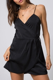 Motel Wrap Slip Dress - Product Mini Image