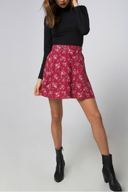 Motel Rocks Floral Mini Skirt - Front cropped