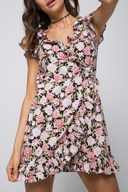 Motel Rocks Floral Wrap Dress - Product Mini Image