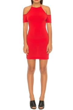 Shoptiques Product: Hollie Red Bodycon