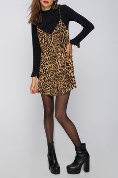Shoptiques Product: Leopard Slip Dress