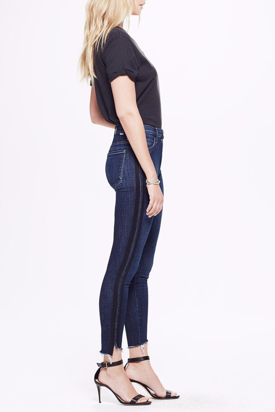 Mother Ankle Step Fray Jeans - Front Cropped Image