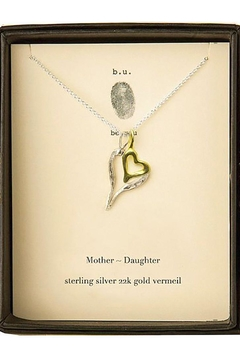 b.u. Jewelry Mother Daughter Necklace - Alternate List Image