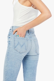 Mother Dazzler Ankle Fray - Back cropped
