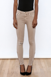 Mother Ankle Fray Jean - Side cropped