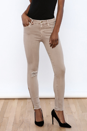 Mother Ankle Fray Jean - Front cropped