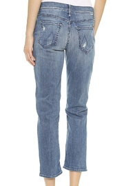 Mother Dropout Slouchy Skinny - Front full body