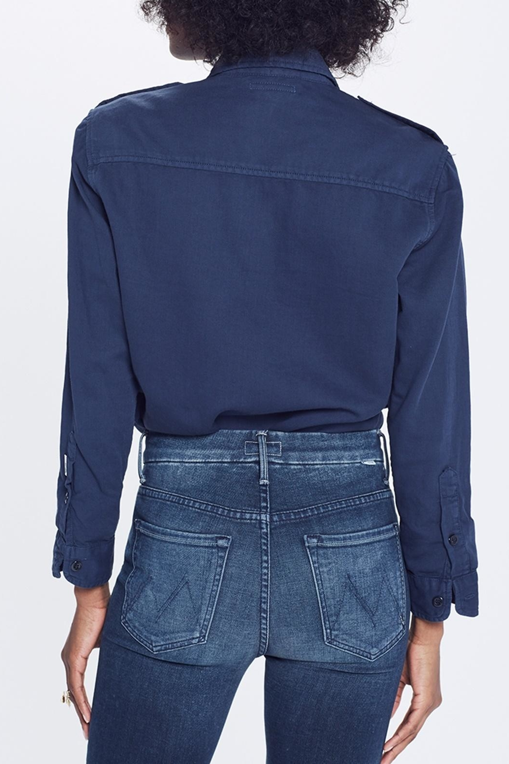 Mother High Waist Jean - Back Cropped Image