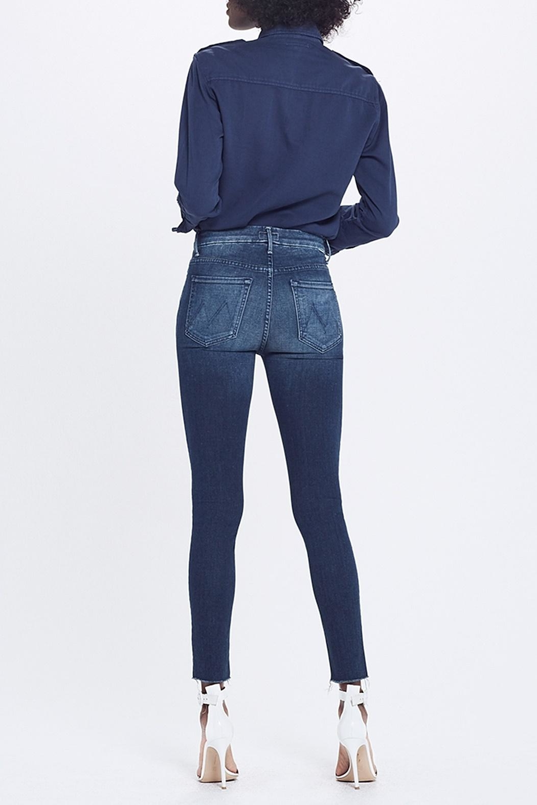 Mother High Waist Jean - Side Cropped Image